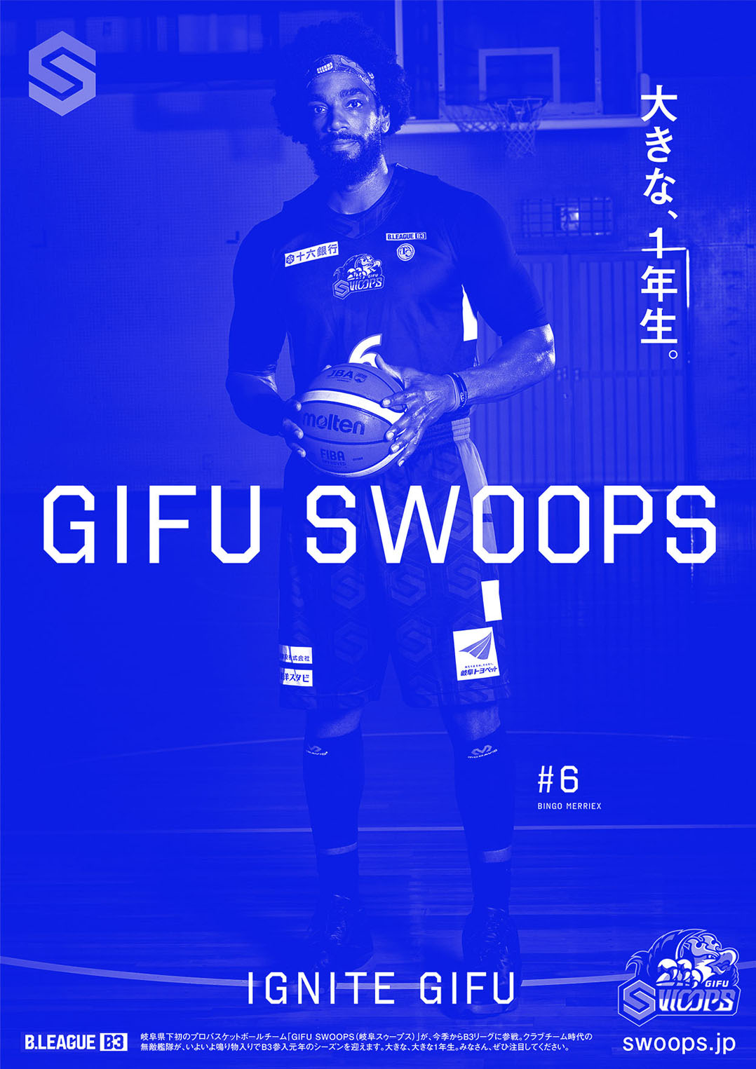GIFU SWOOPS